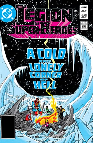 Legion of Super-Heroes (1980-1985) #289