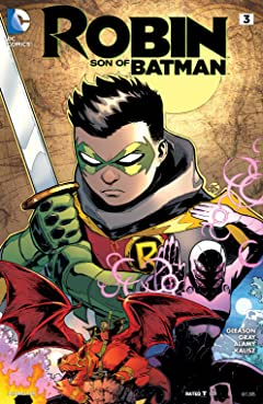 Robin: Son of Batman (2015-2016) #3