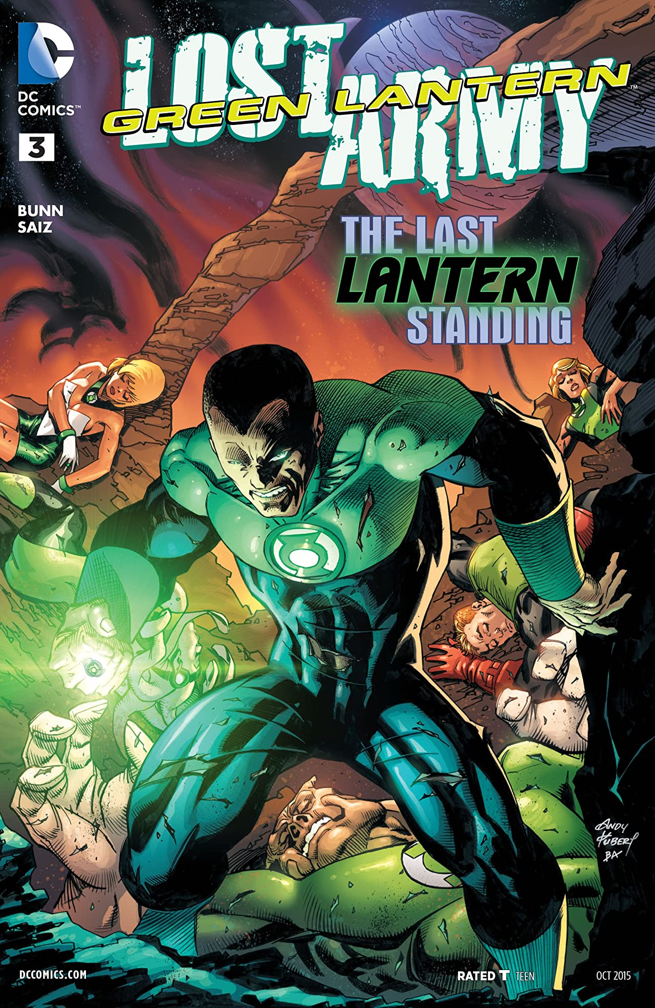 Green Lantern: Lost Army (2015) #3