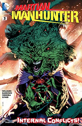 Martian Manhunter (2015-2016) #3