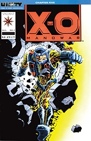 X-O Manowar (1992-1996) No.7