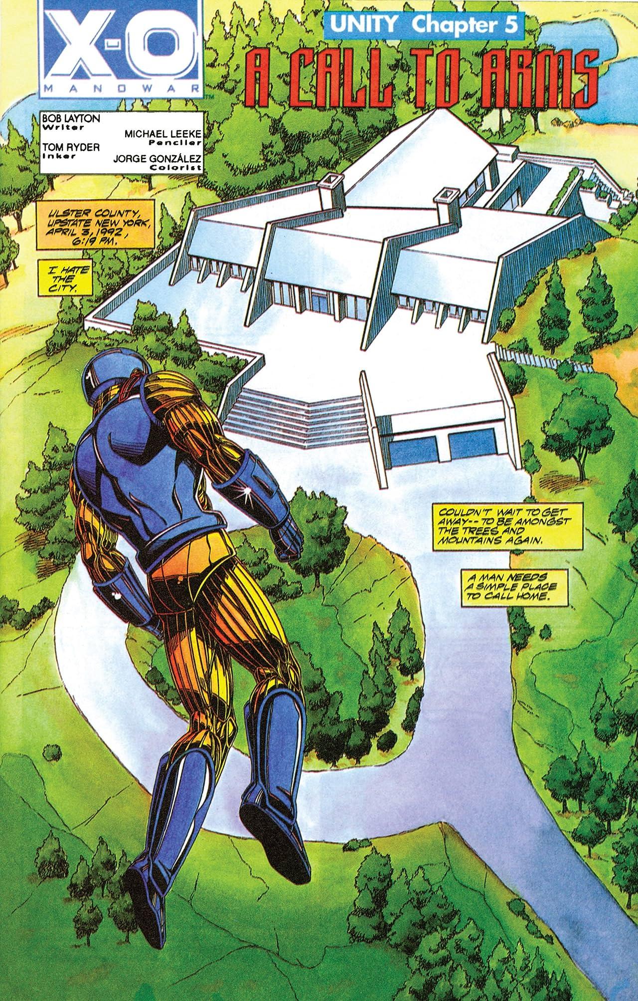 X-O Manowar (1992-1996) #7