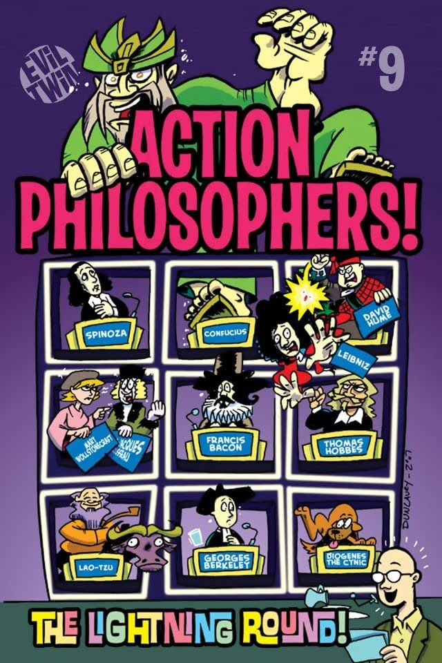 Action Philosophers #9: The Lightning Round