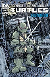 Teenage Mutant Ninja Turtles Micro Series #4: Leonardo