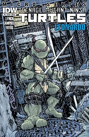 Teenage Mutant Ninja Turtles Micro Series No.4: Leonardo