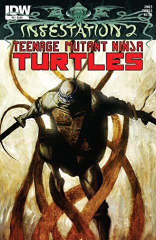 Infestation 2: Teenage Mutant Ninja Turtles #2 (of 2)