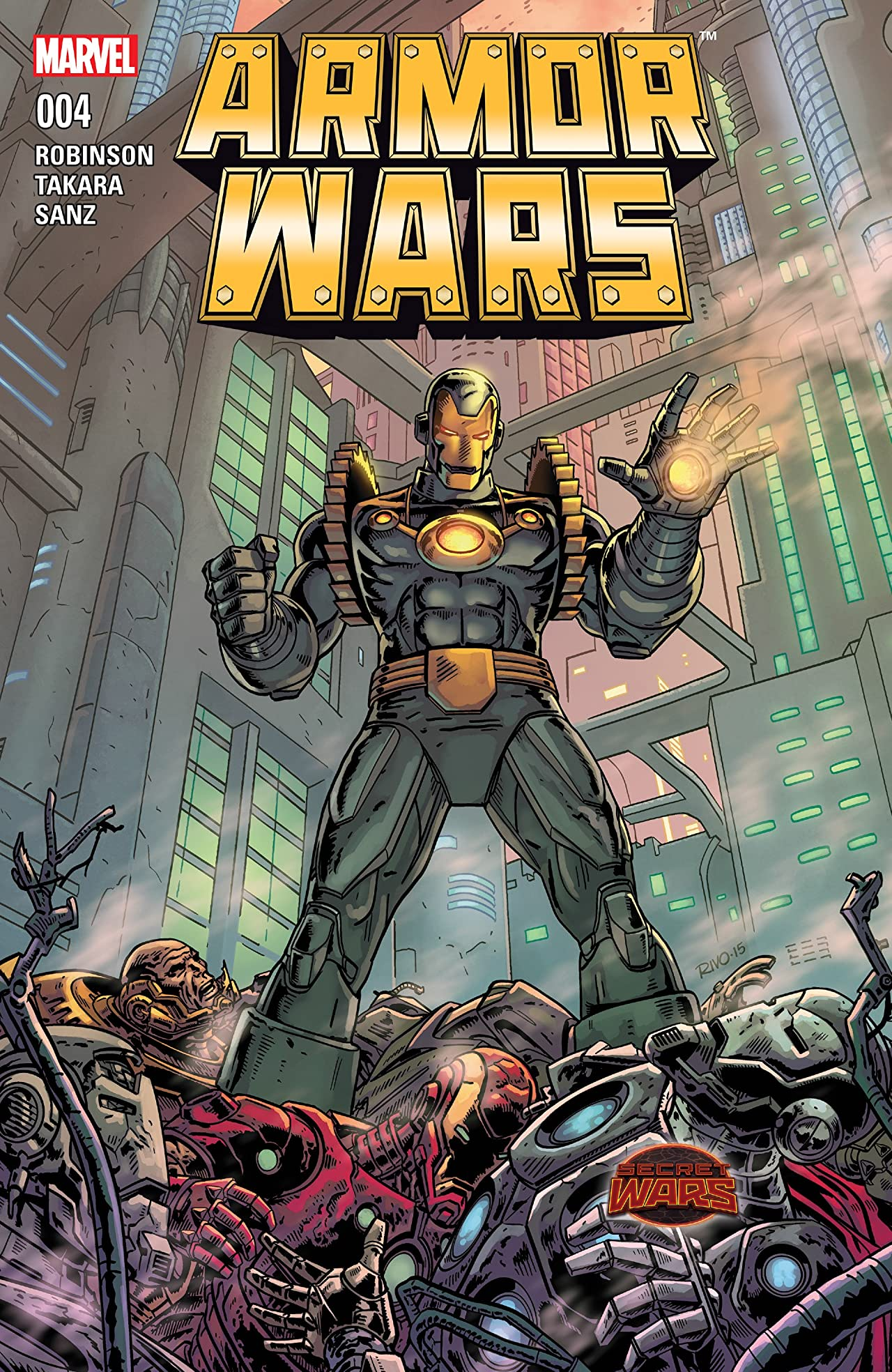 Armor Wars (2015) No.4