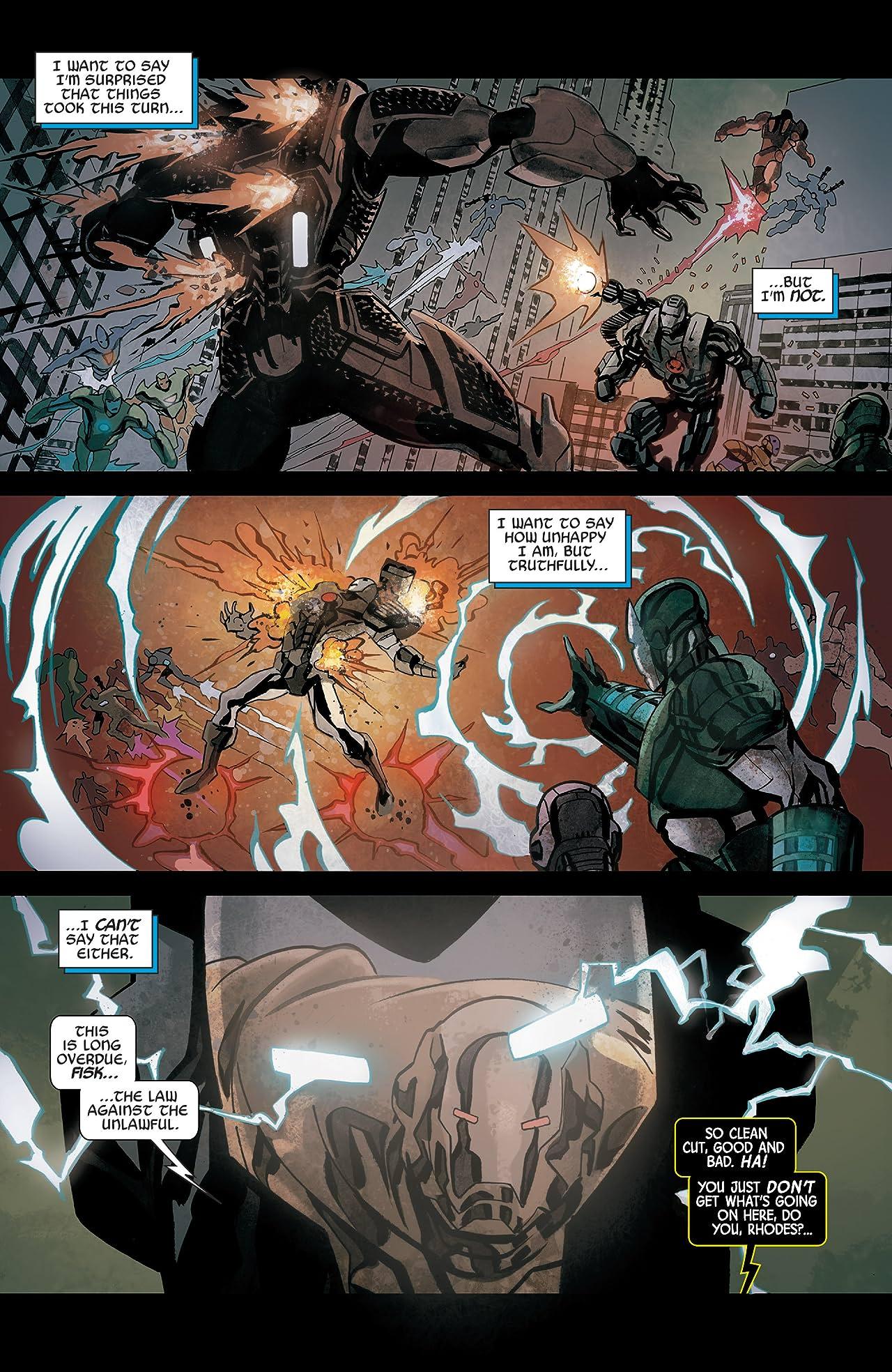 Armor Wars (2015) #4