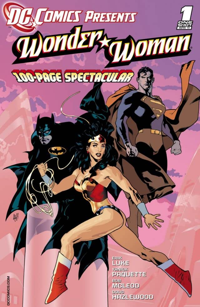 DC Comics Presents: Wonder Woman #1