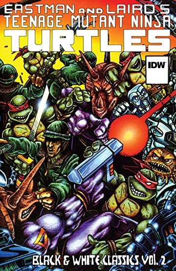 Teenage Mutant Ninja Turtles: Black & White Classics Vol. 2