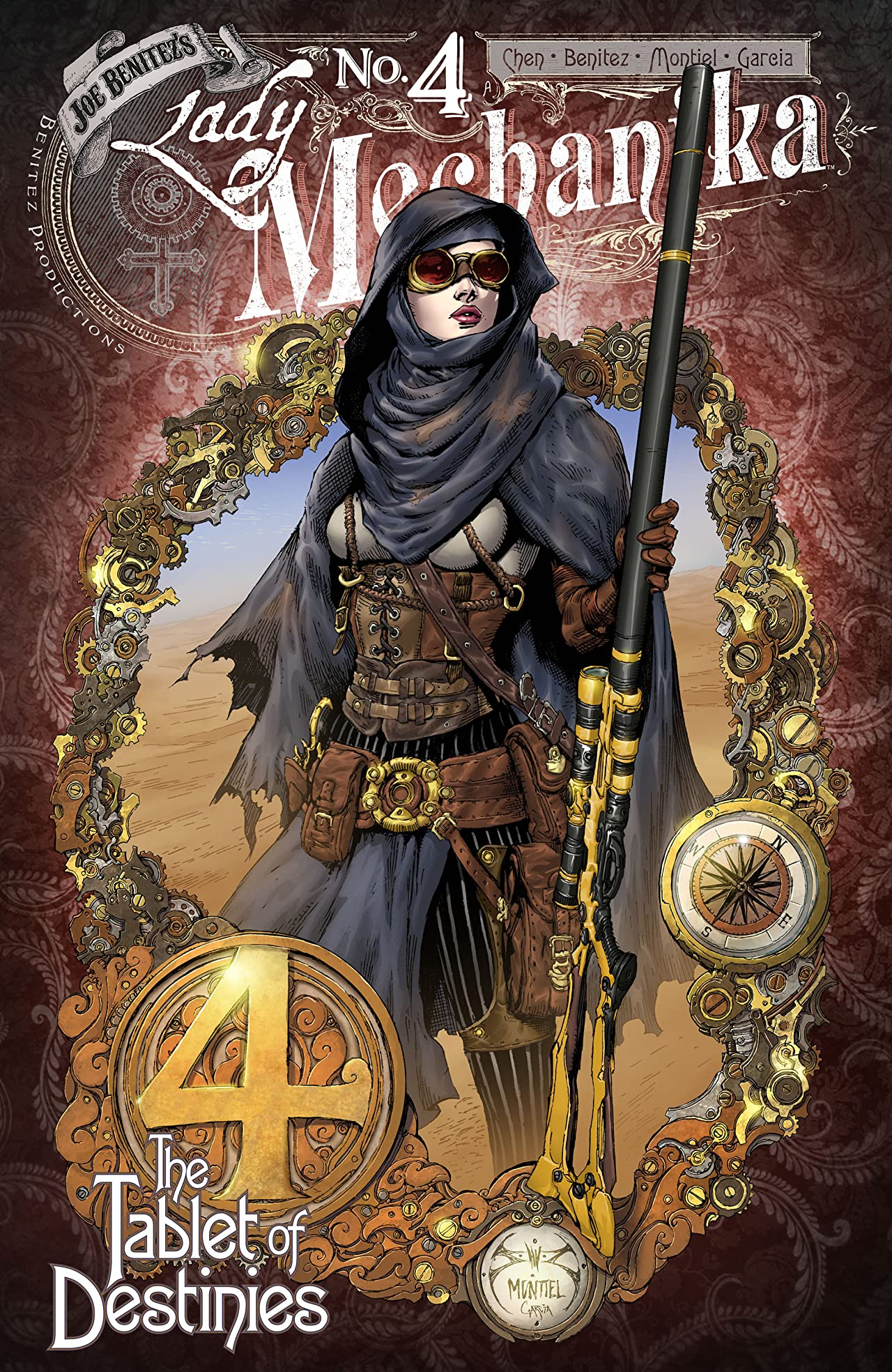 Lady Mechanika: The Tablet of Destinies No.4