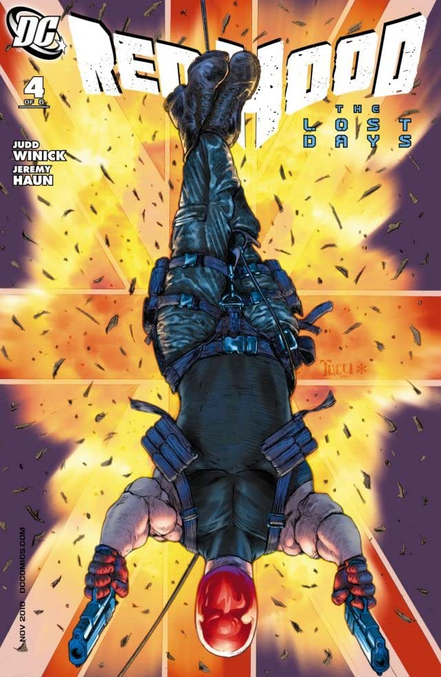 Red Hood: Lost Days #4 (of 6)