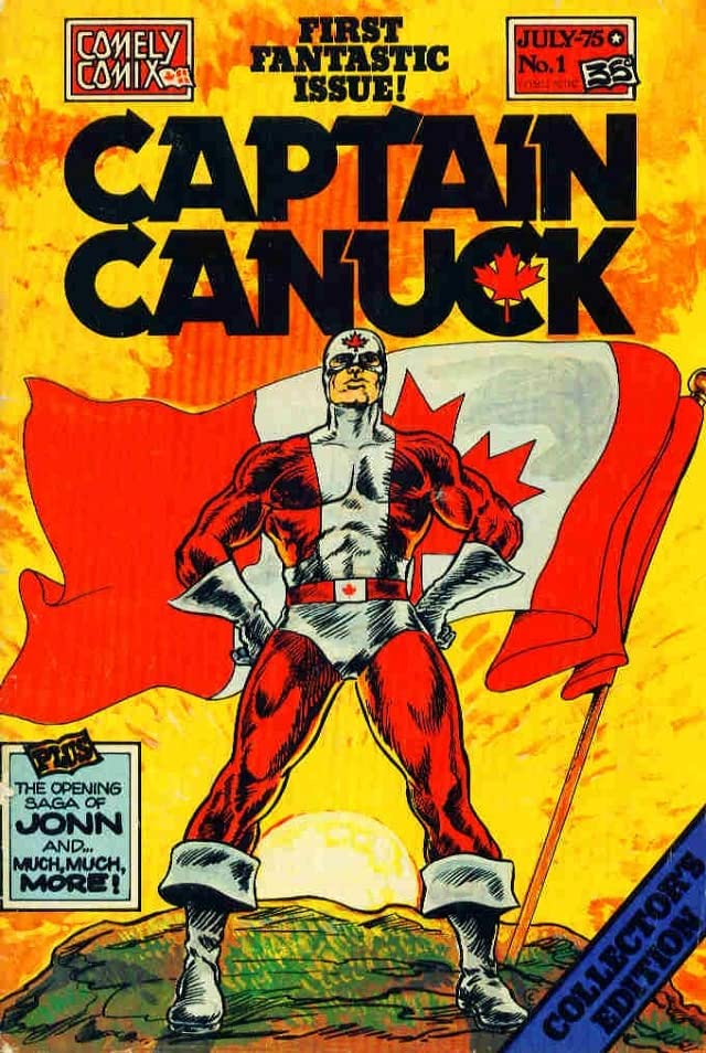 Captain Canuck - Original Series #1
