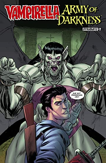 Vampirella/Army of Darkness #2 (of 4): Digital Exclusive Edition