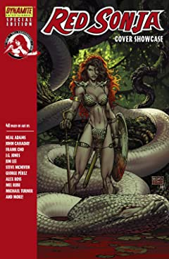 Red Sonja 35th Anniversary Cover Showcase