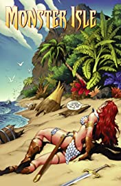Red Sonja Monster Isle