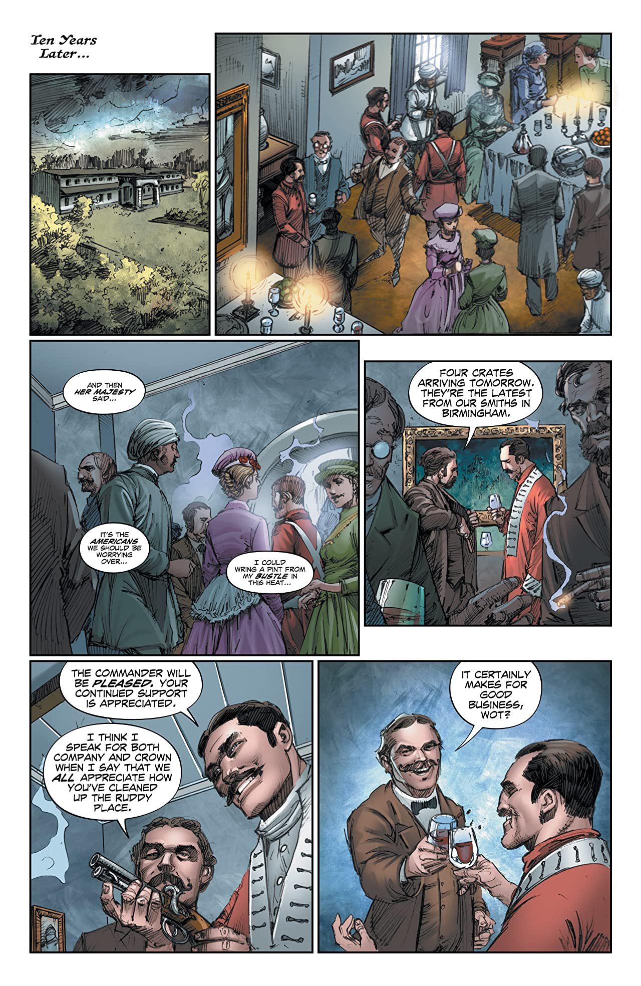 The Sadhu: Birth of the Warrior #3 (of 6)
