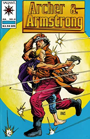 Archer & Armstrong (1992-1994) No.0