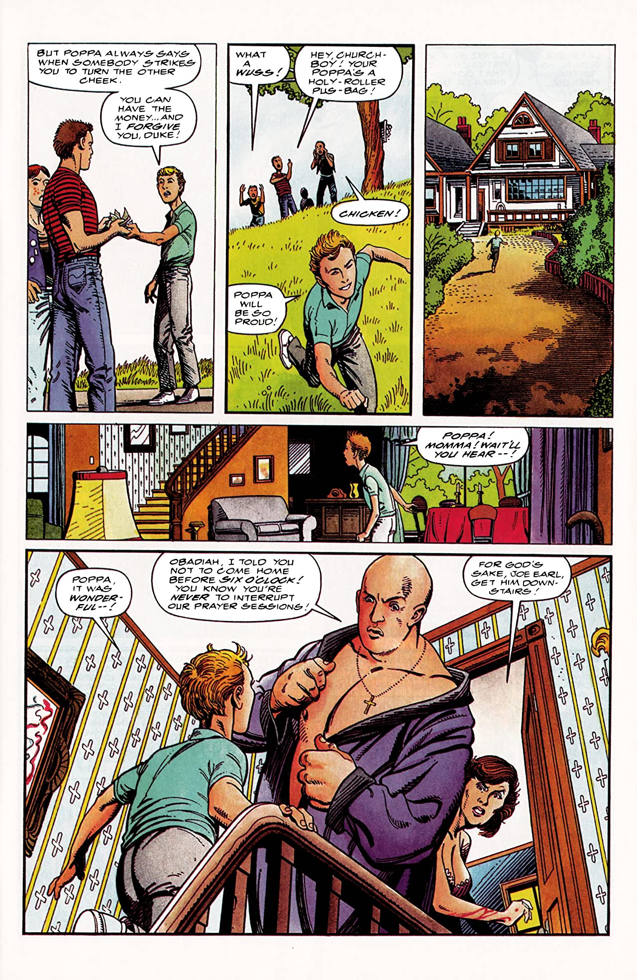 Archer & Armstrong (1992-1994) #0