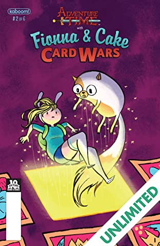 Adventure Time: Fionna & Cake Card Wars #2