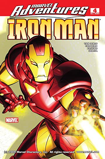 Marvel Adventures Iron Man (2007-2008) #4