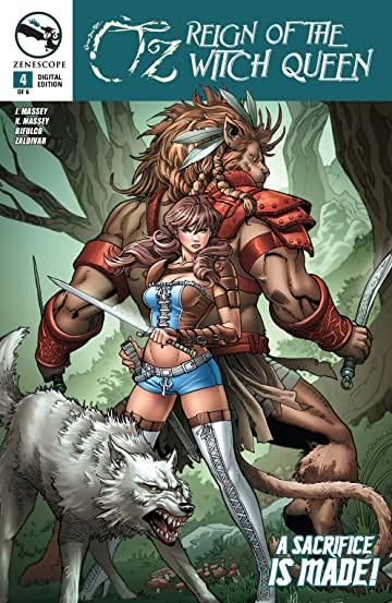 Oz: Reign of the Witch Queen #4 (of 6)