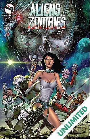 Aliens Vs. Zombies #2 (of 5)