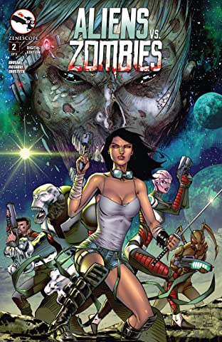 Aliens Vs. Zombies #2 (of 5)