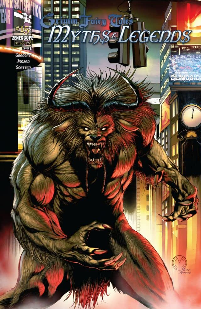Grimm Fairy Tales: Myths & Legends #15