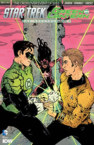 Star Trek/Green Lantern No.2 (sur 6)