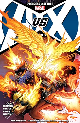 Avengers vs. X-Men No.5 (sur 12)