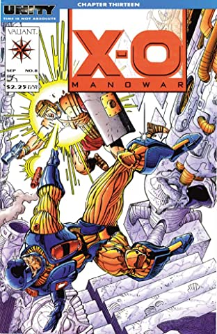 X-O Manowar (1992-1996) No.8