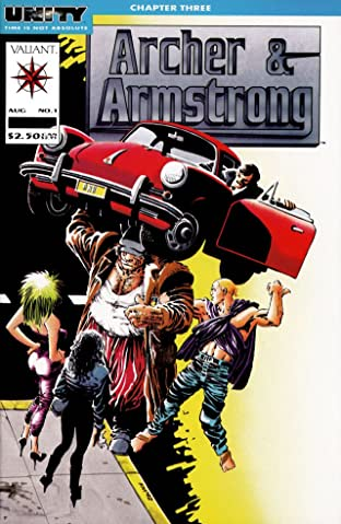 Archer & Armstrong (1992-1994) No.1