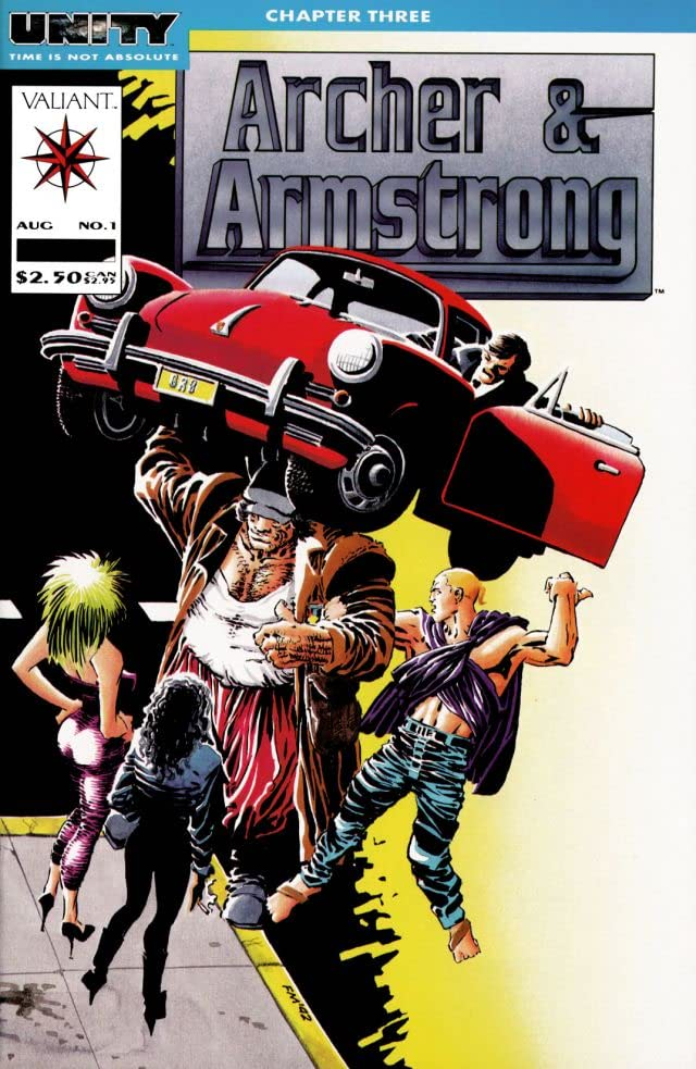 Archer & Armstrong (1992-1994) #1