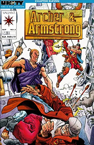 Archer & Armstrong (1992-1994) No.2