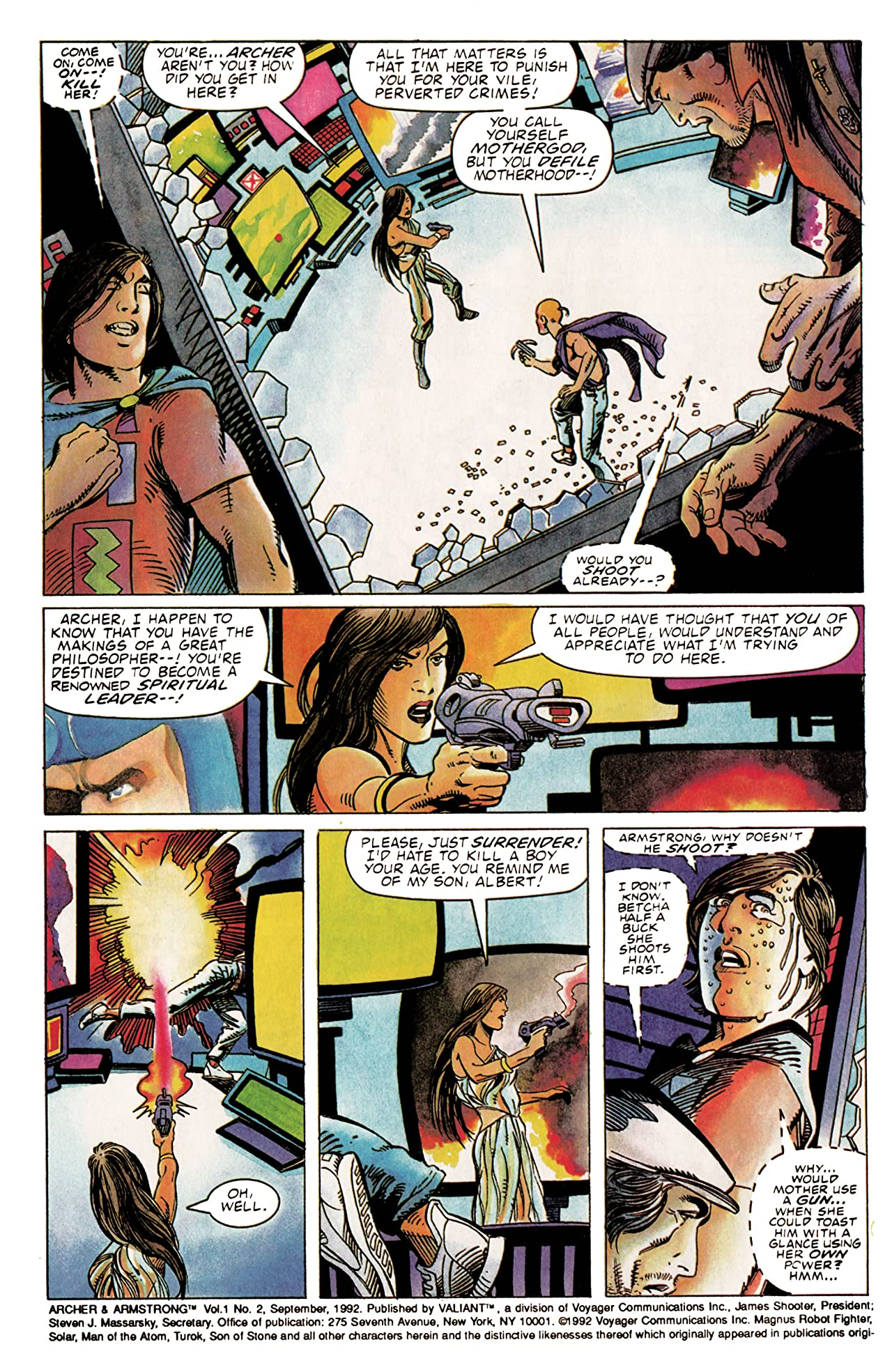 Archer & Armstrong (1992-1994) #2