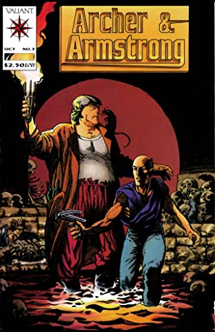 Archer & Armstrong (1992-1994) No.3