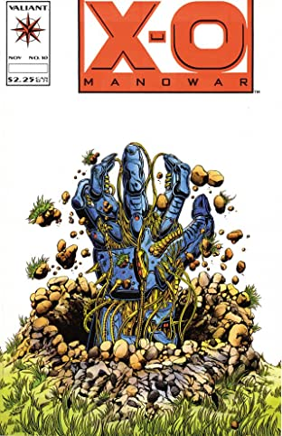 X-O Manowar (1992-1996) No.10