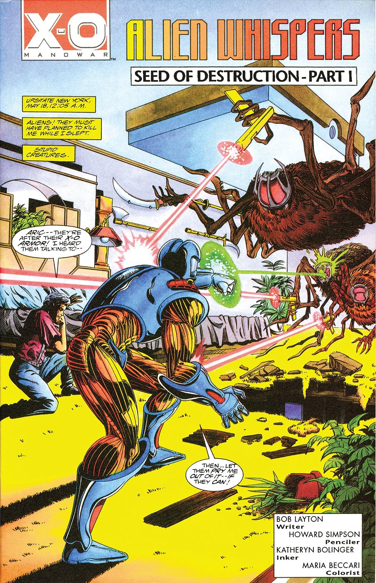 X-O Manowar (1992-1996) #11