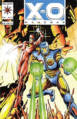X-O Manowar (1992-1996) No.13