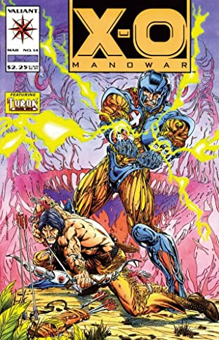 X-O Manowar (1992-1996) No.14
