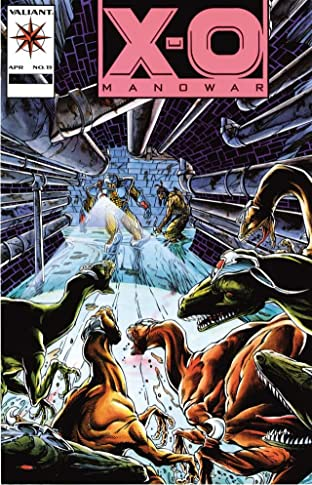 X-O Manowar (1992-1996) No.15