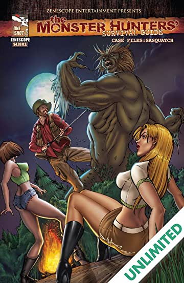 Monster Hunters' Survival Guide: Case Files - Sasquatch