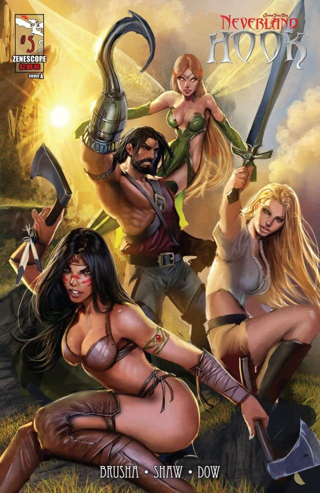 Grimm Fairy Tales Presents: Neverland - Hook #5