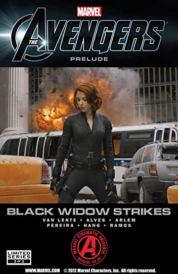 Marvel's the Avengers: Black Widow Strikes #3