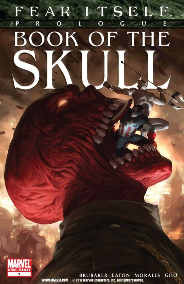 Fear Itself: Book of the Skull #1