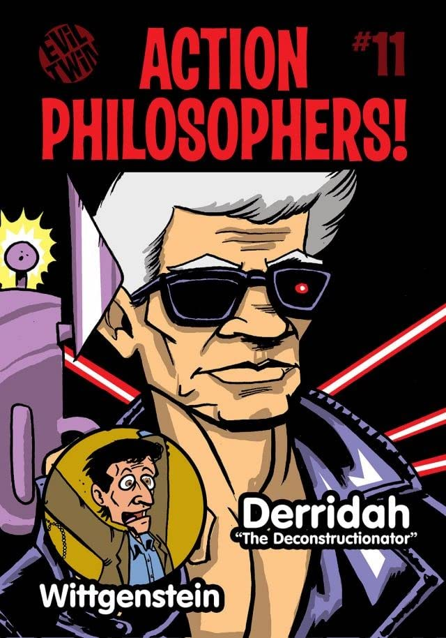 Action Philosophers #11: Wittgenstein & Derrida!