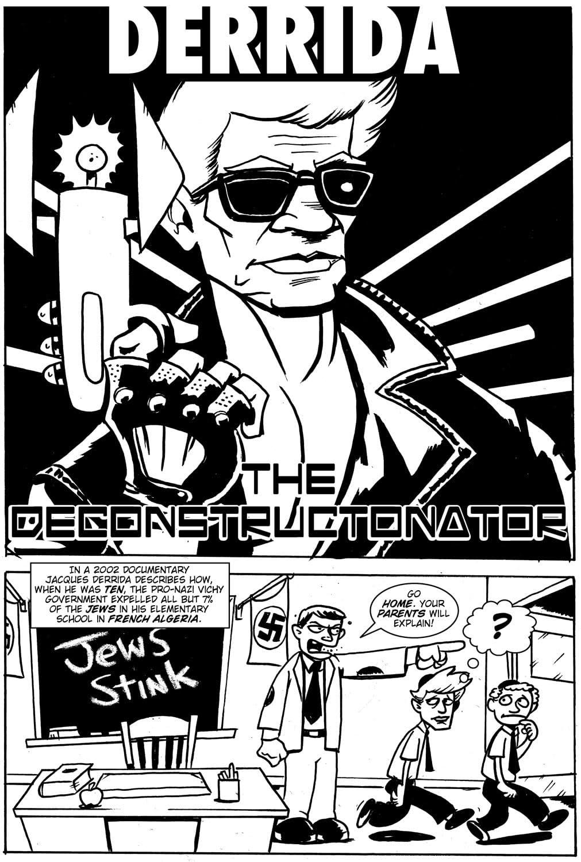 Action Philosophers #11: Wittgenstein & Derrida!