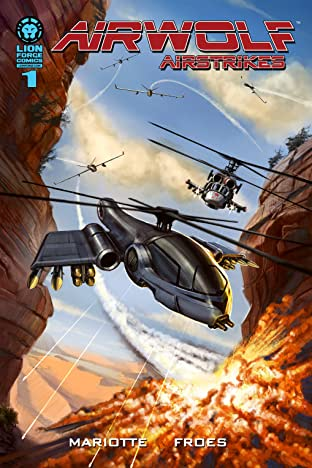 Airwolf Airstrikes #1: Eye in the Sky