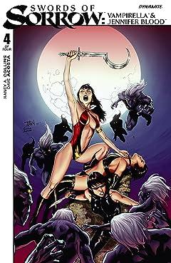 Swords of Sorrow: Vampirella & Jennifer Blood #4 (of 4): Digital Exclusive Edition